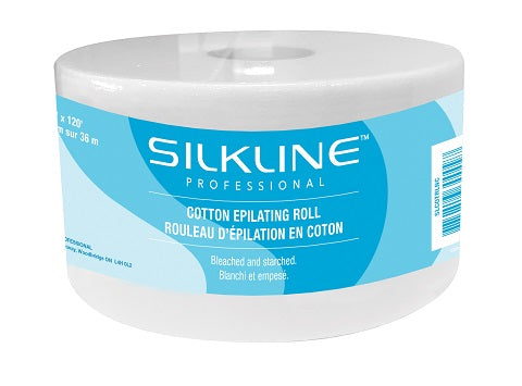 Silkline Professional Cotton Epilating Roll | Absolute Beauty Source