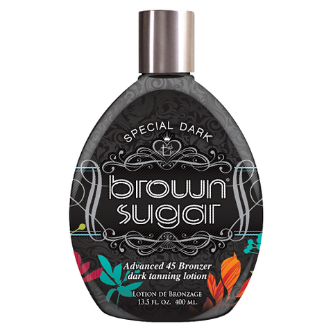 Special Dark Brown Sugar - Advanced 45 Bronzer - Dark Tanning Lotion