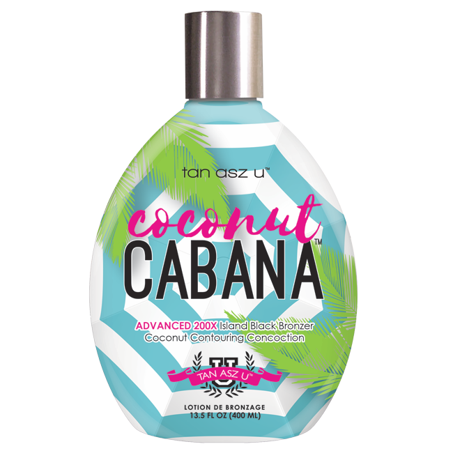 Coconut Cabana - Advanced 200X Island Black Bronzer - Tanning Lotion
