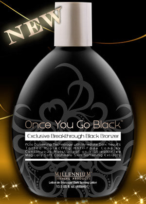 Once You Go Black - Dark Tanning Lotion