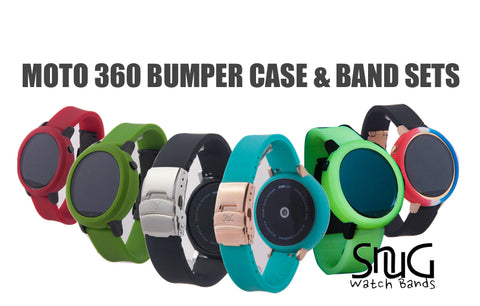 Moto 360 Watch Bands And Bumper Cases SnuG