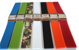 20mm SnuG Silicone Sport Watch Band- 10 colors