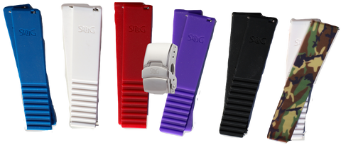 Ultimate Replacement Watch Band Pack for Fossil Q Gazer Hybrid by SnuG Watchbands
