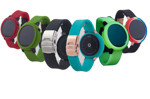 Moto 360 Band with Matching Bumper Case Set