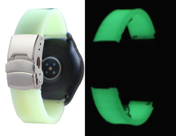 Glow In The Dark SnuG Silicone Sport Samsung Galaxy Watch Band