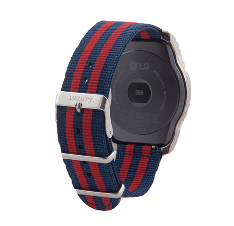 Garmin Vivioactive 3- Luxury Nylon NATO Bands - 4 Colors