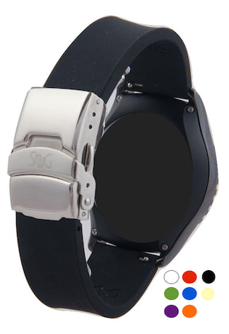 SnuG Silicone Sport MEN's Moto 360 Watch Band- 10 colors