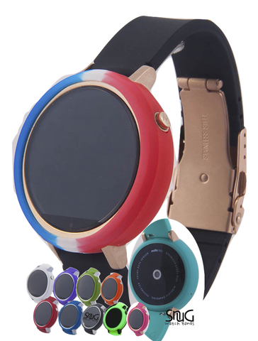 Pack of 5 Moto 360 SnuG Bumper Cases