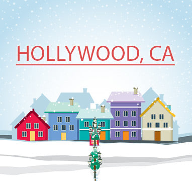 Buy Christmas Trees In Hollywood California