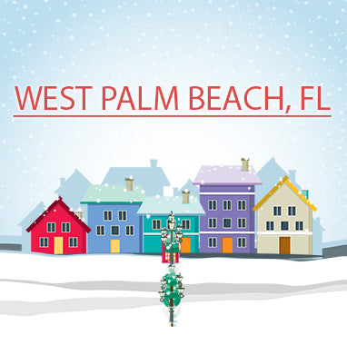 Buy Christmas Trees In West Palm Beach Florida