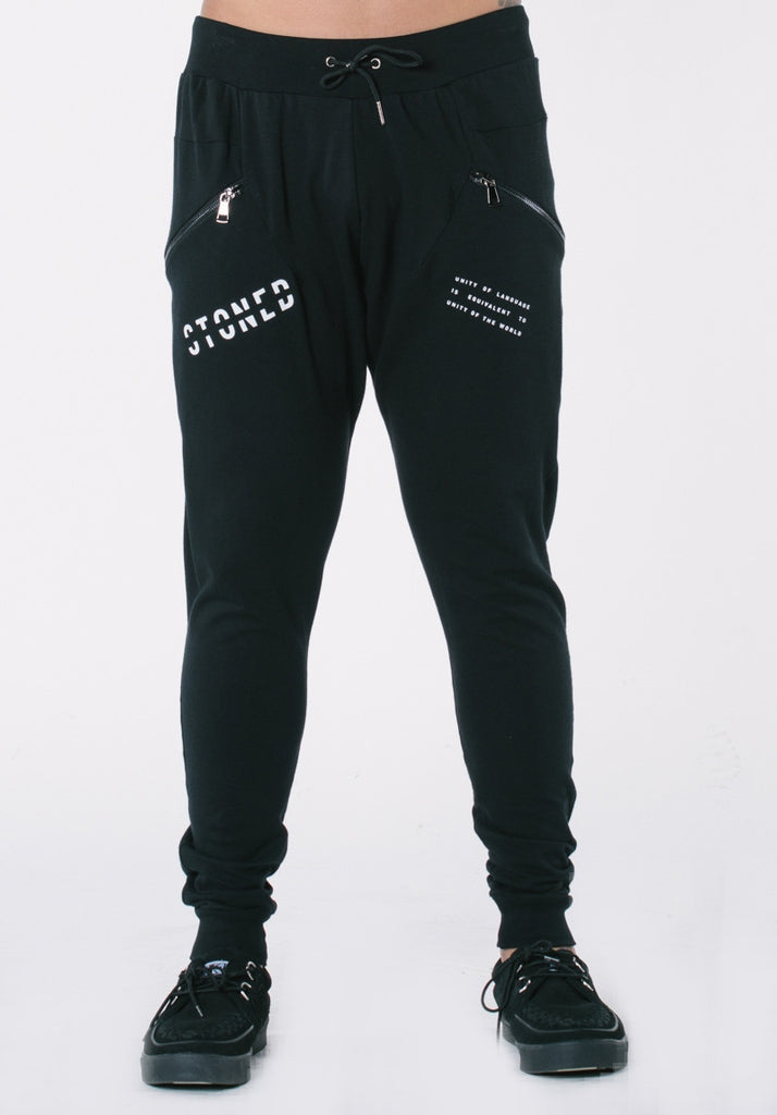 Stoned Structured Sweatpants