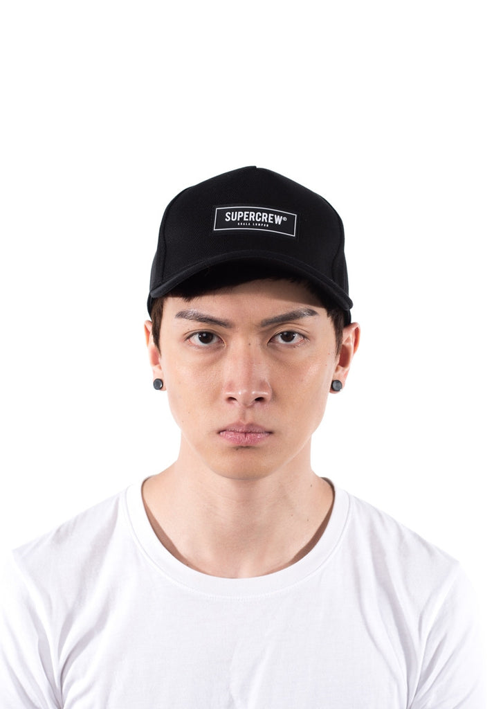 Supercrew Baseball Cap Signature (Black)