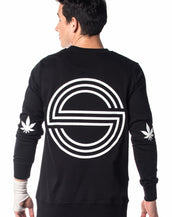 Stoned X Unity Sweatshirt Black