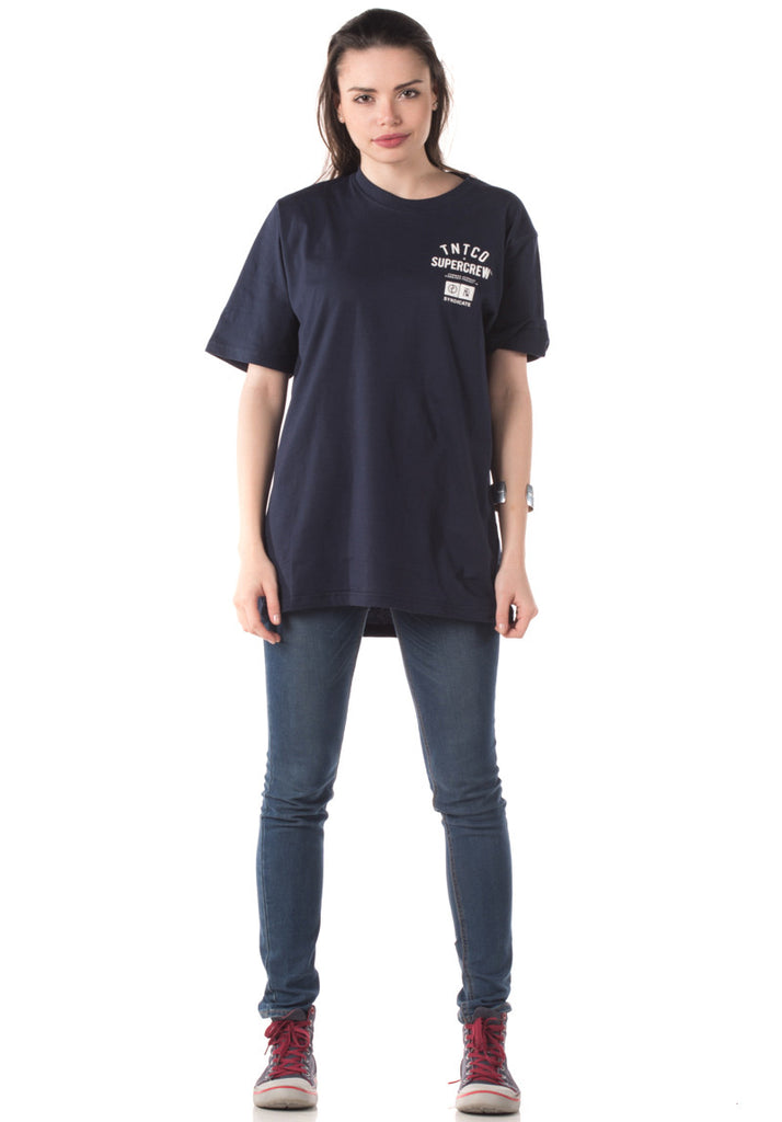 Syndicate Signature Tee (Navy Blue)
