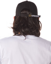 "Supercrew Basecall Cap ""SPCW"" (Black X Red)"