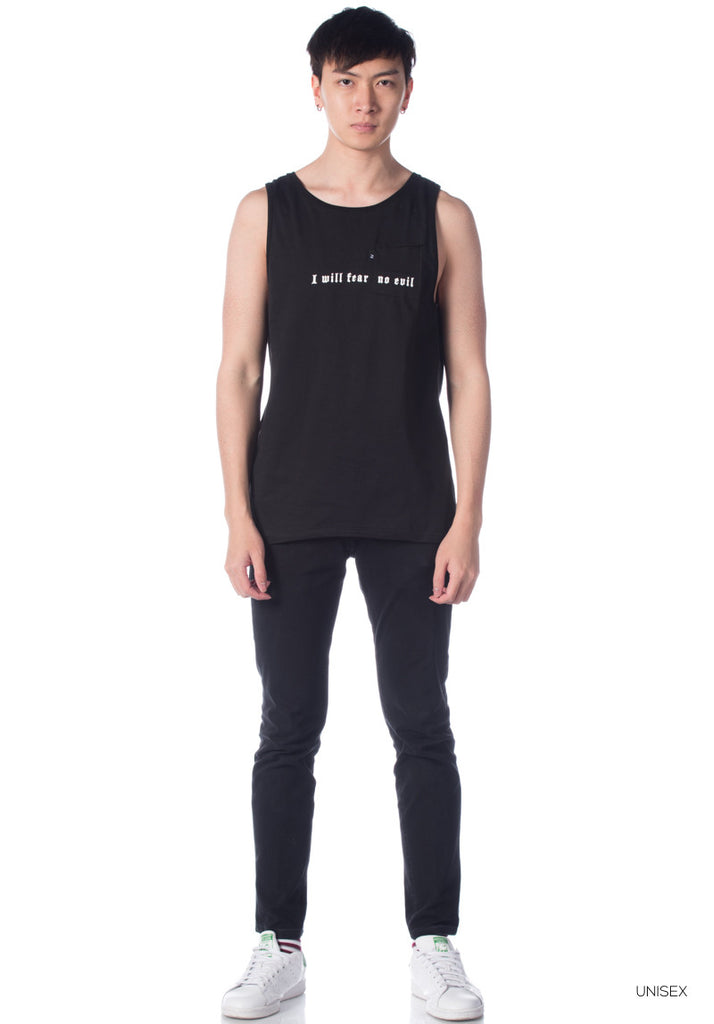Yezzo PSALM 23 Tank Top ( Black )