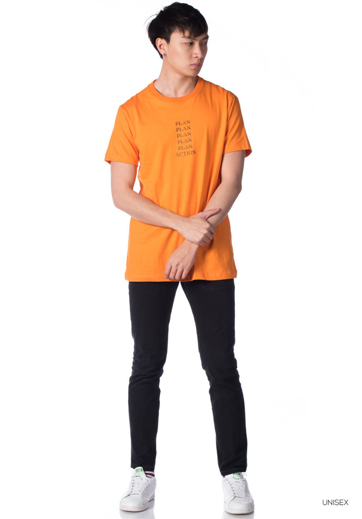 Rexagon 'Mad' Collection SS T-Shirt 003 (Orange)