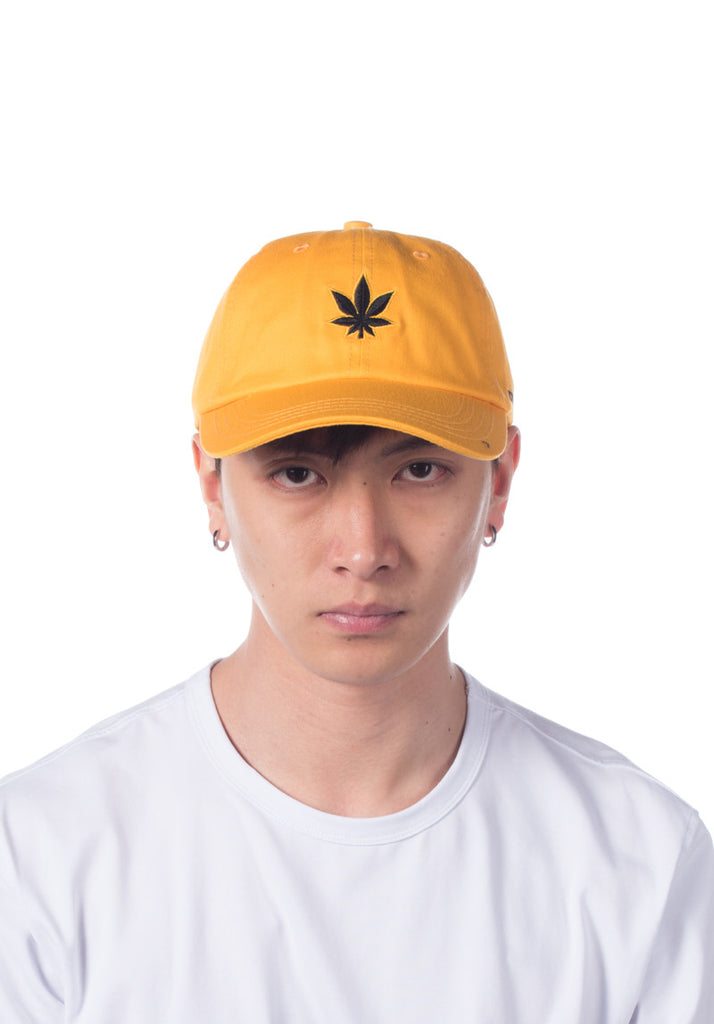 Stoned & Co. Structured Ballcap ( Yellow )