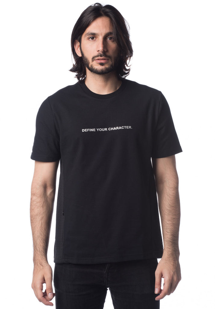 DYCTEAM SLOGAN TEE  (Black)