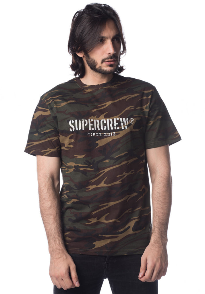 Supercrew 03 S/S (Camo)