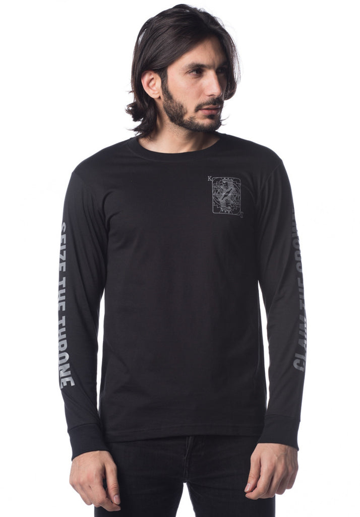 King Of Cards Long Sleeve (Black)