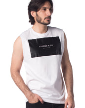 Stoned & Co Basic Tank Top (White)