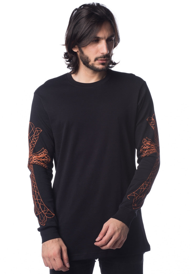 LORDDADDY LORD CROSS PRINT L/S BO