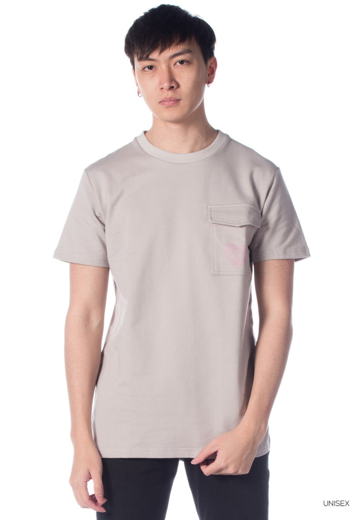 LORDDADDY POCKET TEE GREY