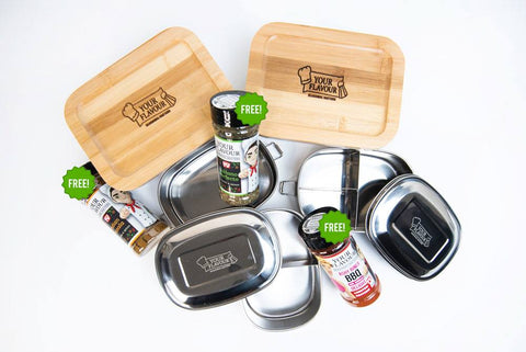 Meal Prep Container Combo Pack B