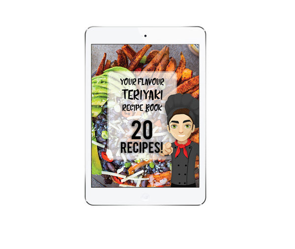 Teriyaki Ebook 20 Recipes