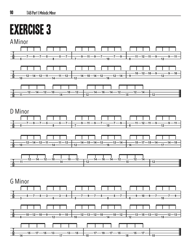 Bass Players Ultimate Chop Builder: Minor Modes - eBook With