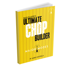 Bass Players Ultimate Chop Builder: Major Modes - eBook and Video Package