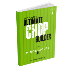 Bass Players Ultimate Chop Builder: Minor Modes - eBook and Video Package
