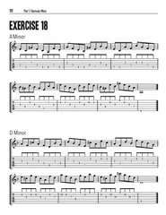 Guitarists Ultimate Chop Builder: Minor Modes - eBook With HD Video Package