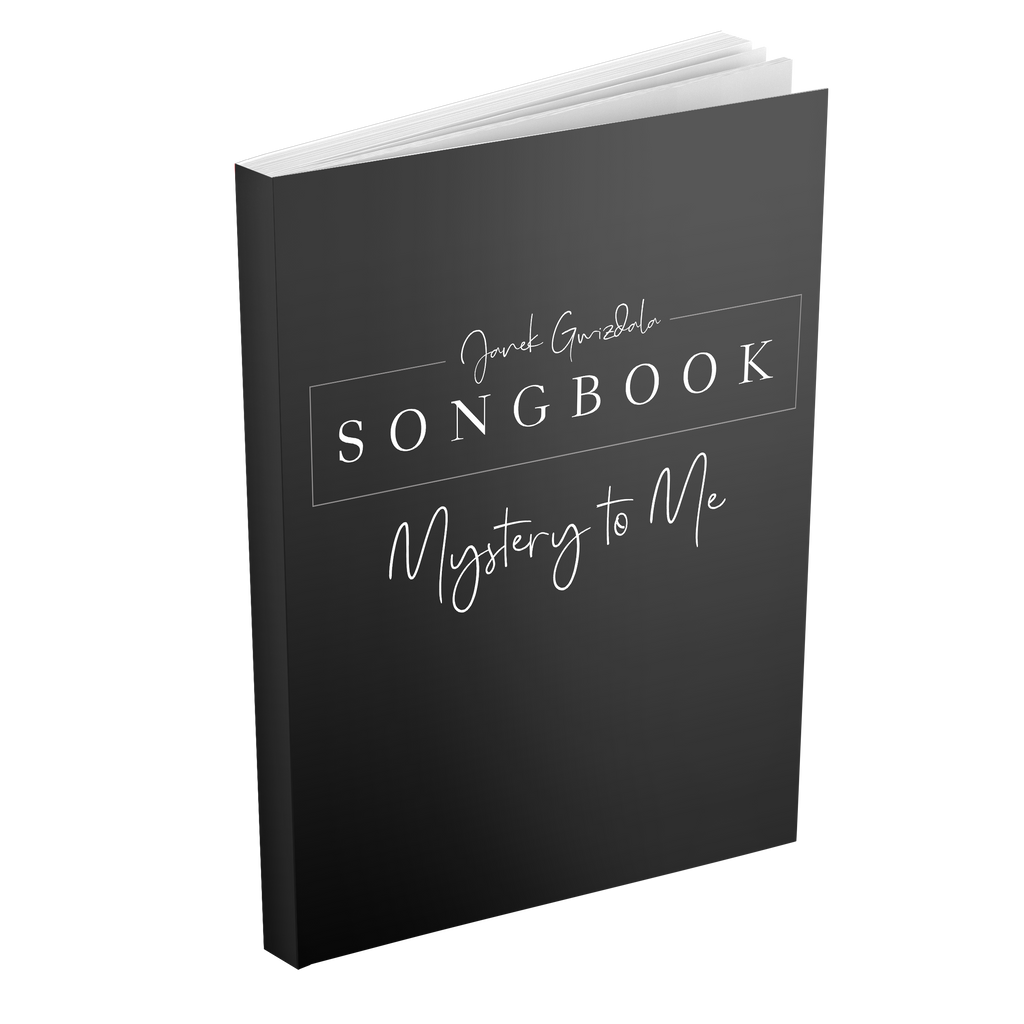 Mystery To Me Songbook - Digital Download