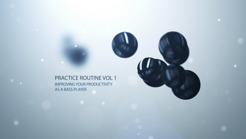 The Practice Routine - Vol 1. Feature length instructional video with full sheet music book
