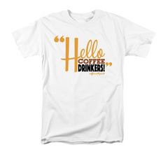 Hello Coffee Drinkers - Men's T-Shirt