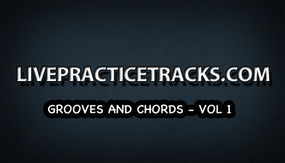 Grooves and Chords play-along Volume 1 (includes sheet music)