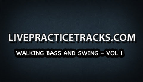 Walking bass and swing Volume 1 play-along (includes sheet music)