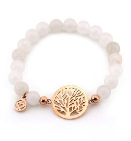 Courtney White Jade Bracelet