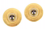 Amiria Earrings | Tahitian Pearl Earrings | Shahana Jewels