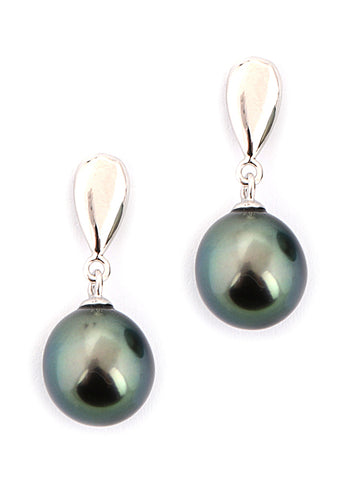 Ella Earrings | Tahitian Pearl Earrings | Shahana Jewels