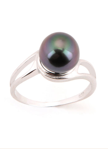 Eva Ring | Tahitian Pearl Ring | Shahana Jewels
