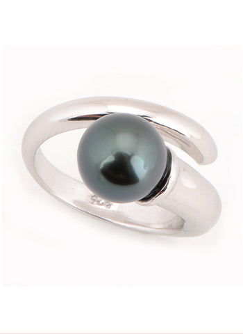 Lydia Ring | Tahitian Pearl Ring | Shahana Jewels