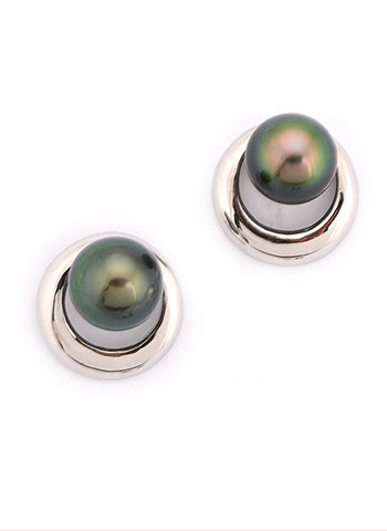 Riley Earrings | Tahitian Pearl Earrings | Shahana Jewels