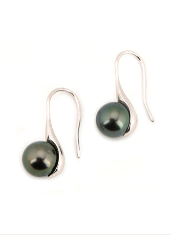 Victoria Earrings | Tahitian Pearl Earrings | Shahana Jewels