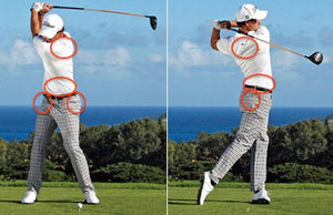 The 3 Most Important Areas of Your Golf body