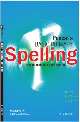 PASCAL SPELLING (Years 1 - 4) - Teachnest