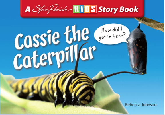 STEVE PARISH - INSECT STORYBOOKS - CASSIE THE CATERPILLAR - Teachnest