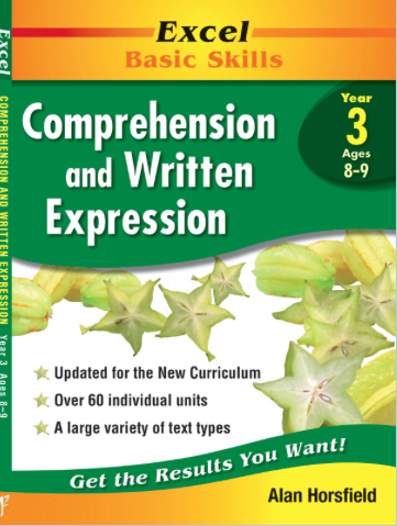 EXCEL BASIC SKILLS - COMPREHENSION AND WRITTEN EXPRESSION YEAR 3 - Teachnest